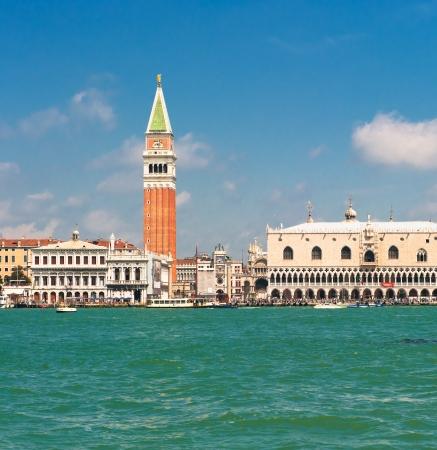 Panorama of Venice, Italy photo