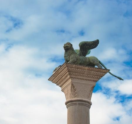 leon con alas: León alado veneciano