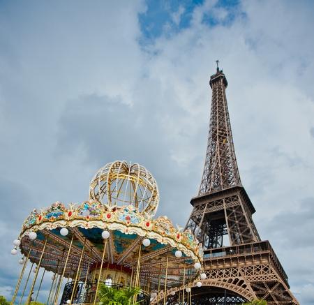 d'eiffel: Eiffel tower, Paris, France