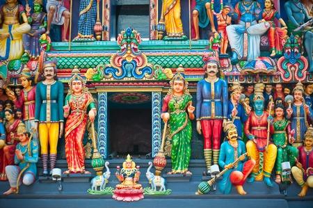 mariamman: Sri Mariamman Temple, Singapores oldest Hindu temple Stock Photo
