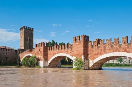 ponte: Ponte Pietra bridge, Verona, Italy