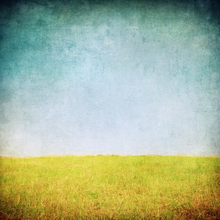 colorful grunge: grunge image of a field