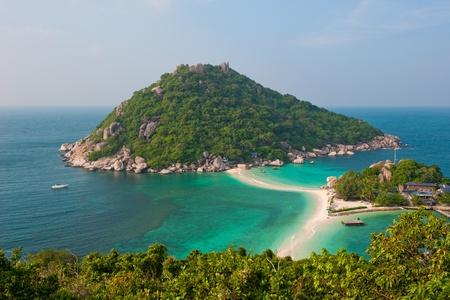 nang: Nang Yuan Island, Koh Tao, Thailand Stock Photo