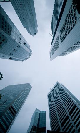 corporate buildings: urban cityscape