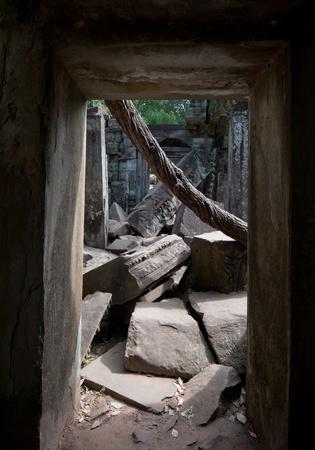Ruins of Beng Mealea, Angkor, Cambodia Stock Photo - 12860570