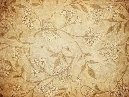 tapety grunge z wzorem kwiatowym