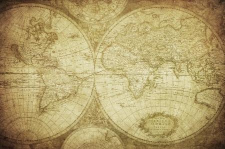 wall maps: mapa de la vendimia del mundo 1675