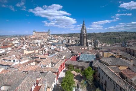 Panorama of Toledo, Spain Stock Photo - 13639019