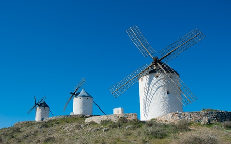 don: Windmills in Consuegra, Spain