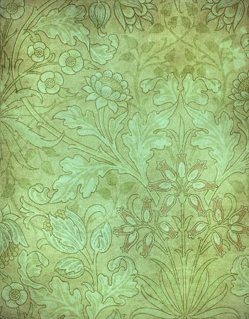highly detailed image of grunge vintage wallpaper photo