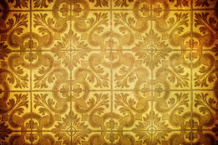wall mural: Grunge tile background Stock Photo