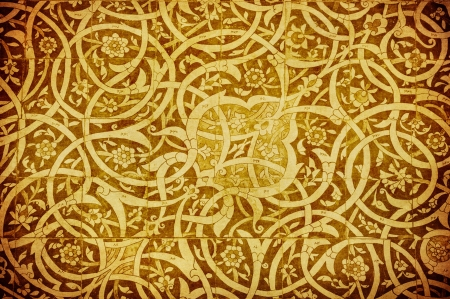 grunge background with oriental ornaments   background with oriental ornaments