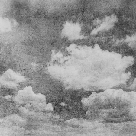 retro image of cloudy sky Stock Photo - 15974424