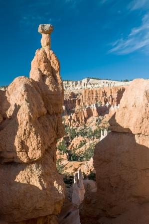 bryce: Thors Hammer formation, Bryce Canyon, Utah, USA Stock Photo