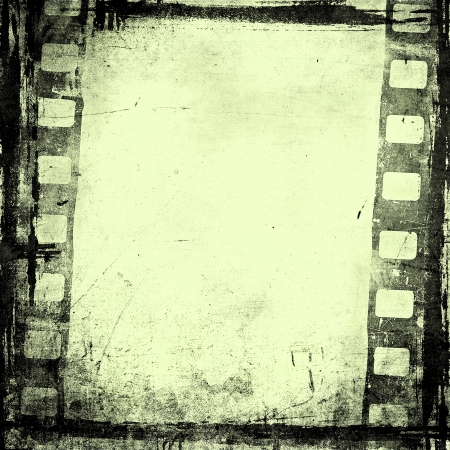 grunge film background with space for text or image Stock Photo