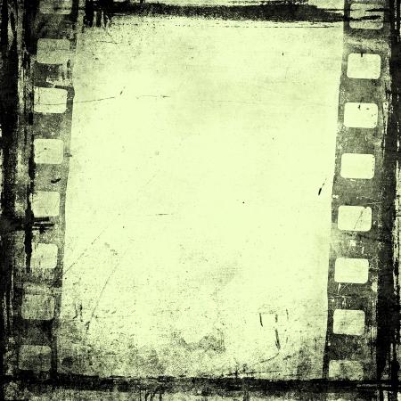 Grunge Film Hintergrund mit Platz für Text oder Bild Standard-Bild