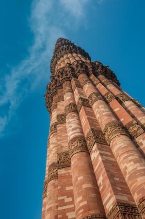 minar: Qutub Minar tower, Delhi, India