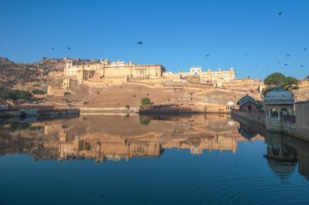 rajput: Amber fort, Jaipur, India