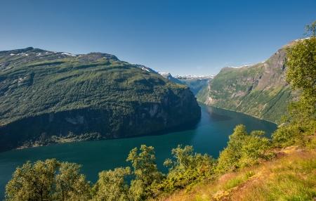 scandinavian landscape: Geiranger fjord, Norway
