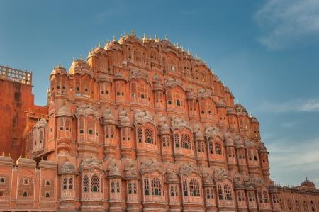 Hawa Mahal, Palace of winds, Jaipur, India Stock Photo