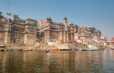 ganges: Holy city of Varanasi, India