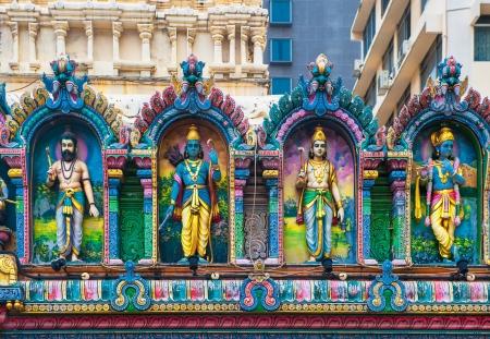 hanuman: Sri Krishnan temple, Singapore