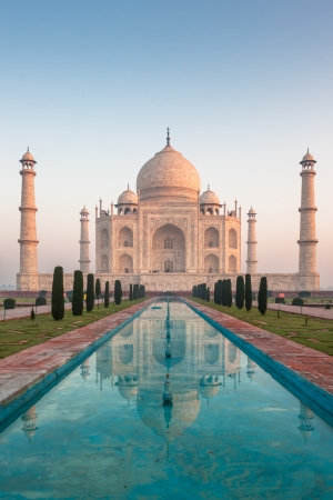 monument in india: Taj Mahal, Agra, India