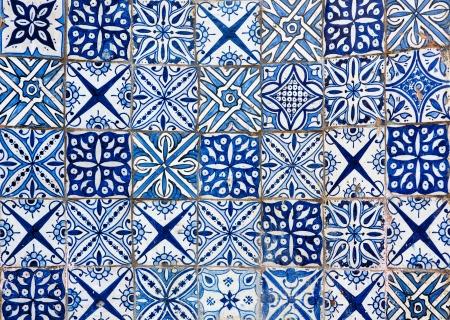 marokkanischen Fliesen Hintergrund
