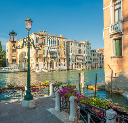 beautiful scenery: Grand Canal, Venice, Italy