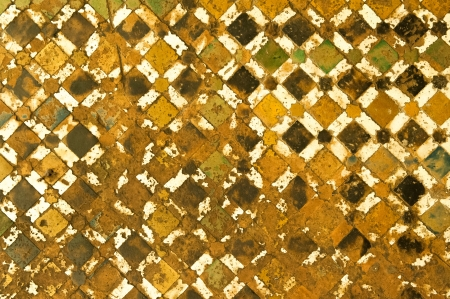 moroccan tile background photo
