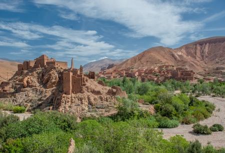 berber: Berber kasbah in Dades gorge, Morocco