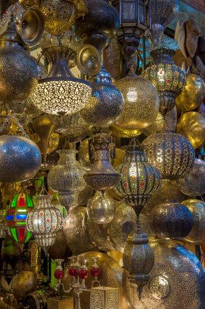 Moroccan antique lamps