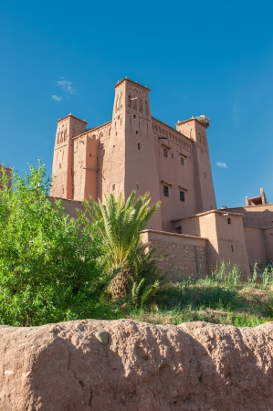 fortified: Ait Benhaddou, traditional berber kasbah, Morocco