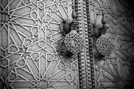 wood carving door: Ancient doors, Morocco