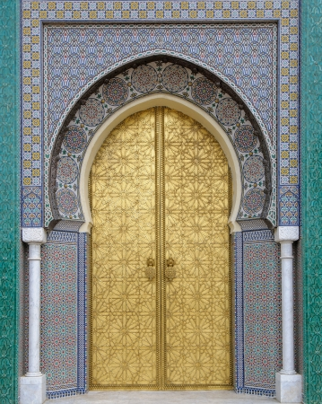 art door: Ancient doors, Morocco