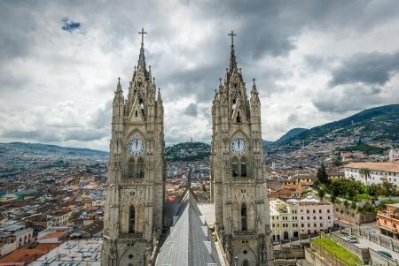 ecuador: Basilica del Voto Nacional, Quito, Ecuador