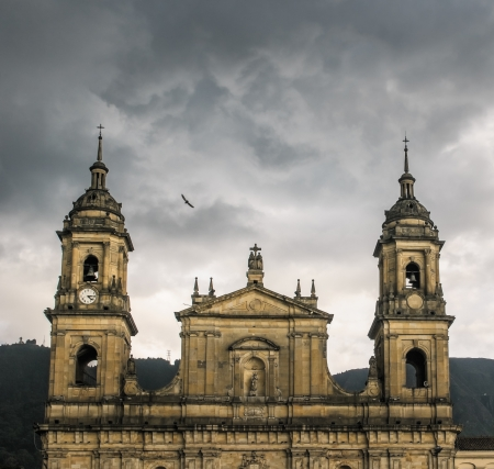 casa colonial: Catedral de primate, Bogot?, Colombia