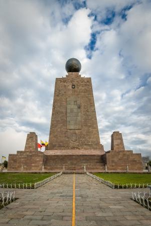 del: Mitad del Mundo, Middle of the World, Quito, Ecuador