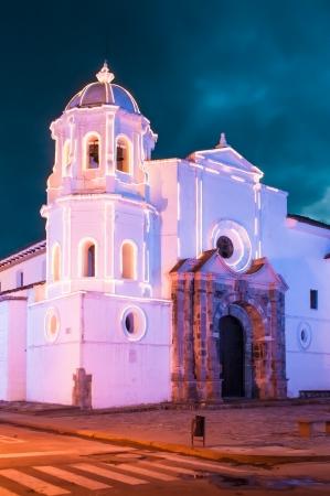 santo: Iglesia de Santo Domingo, Popayan, Colombia
