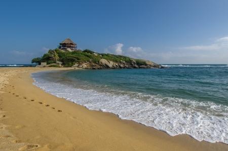 juan: Cabo San Juan, Tayrona national park, Colombia Stock Photo