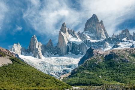 Fitz Roy Berg, Patagonien, Argentinien Standard-Bild - 22504808