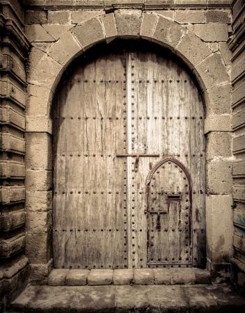 door knob: Ancient doors, Morocco