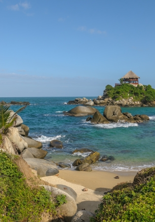 juan: Cabo San Juan, Tayrona national park, Colombia Stock Photo