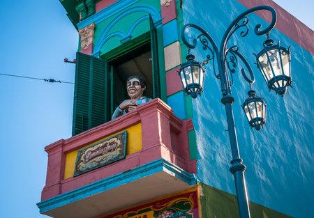 buenos: La Boca neigborhood, Buenos Aires, Argentina