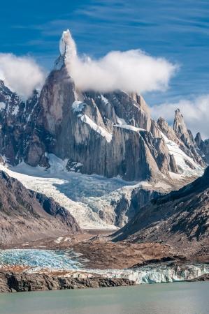 torre: Cerro Torre mountain, Patagonia, Argentina