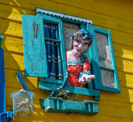 La Boca neigborhood, Buenos Aires, Argentina photo