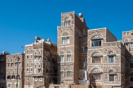 yemen: Streets of Sanaa, Yemen Stock Photo