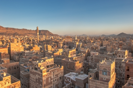 civilizations: Panorama of Sanaa, Yemen
