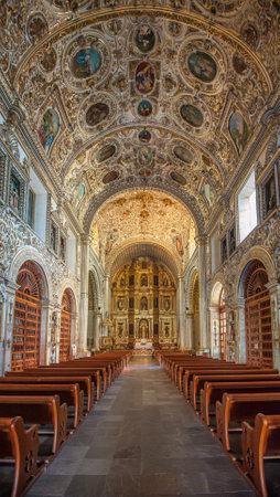 santo: Church of Santo Domingo de Guzman in Oaxaca, Mexico