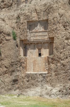persia: Naqsh-e Rustam ancient necropolis, Pars Province, Iran Stock Photo